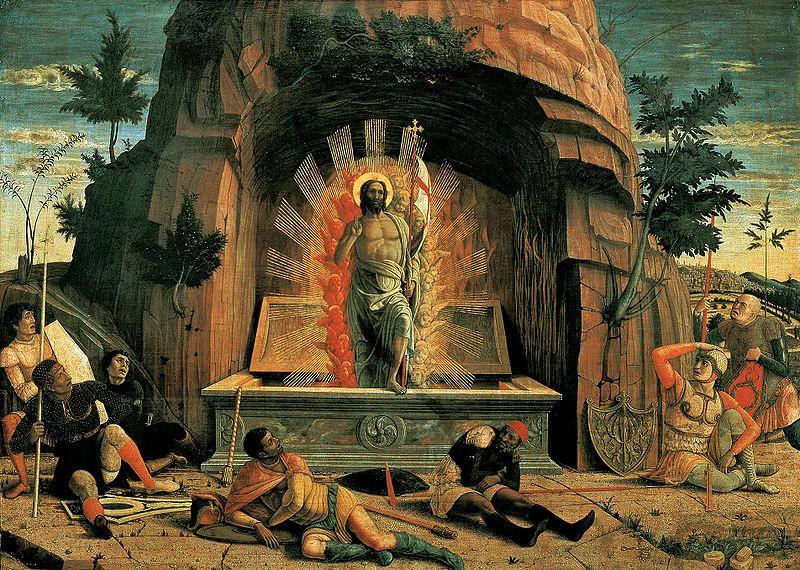 Mantegna Resurrezione | Hotelvalbrenta.com