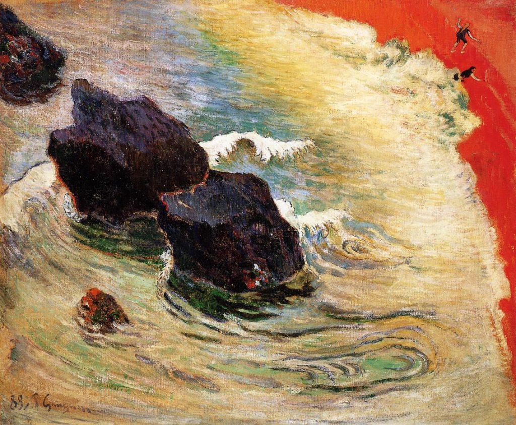 Gauguin 1888 La Vague | Hotelvalbrenta.com